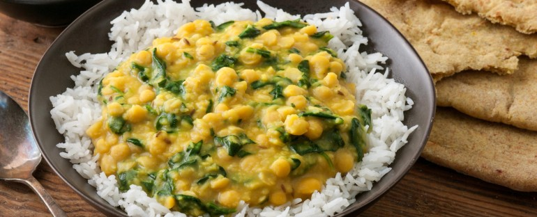 SPINACH LENTIL DHAL